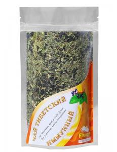 Тибетский иммунный травяной чай с плодами бузины.